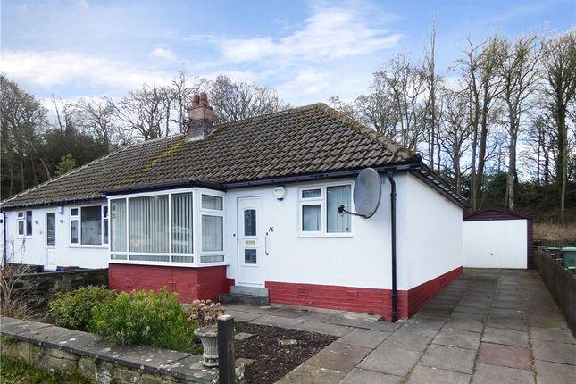 Thumbnail Semi-detached bungalow for sale in Goit Stock Terrace, Harden, Bingley, West Yorkshire