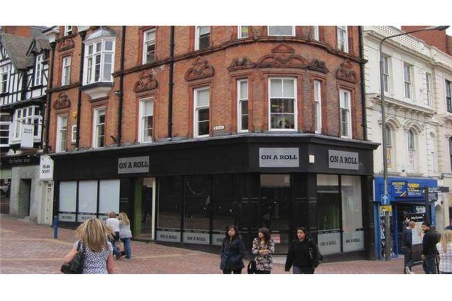 Thumbnail Retail premises to let in 54, St. Peters Street, Derby, East Midlands, UK