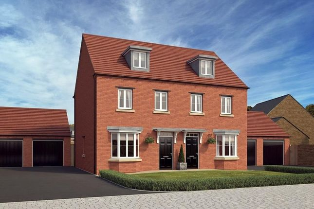 "3 bedroom semi-detached house for sale in ""Kennett"" at Blandford Way, Market Drayton"