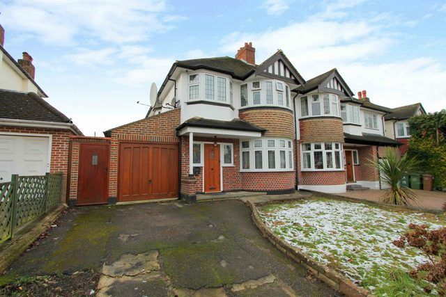 Thumbnail Semi-detached house for sale in Carleton Avenue, Wallington