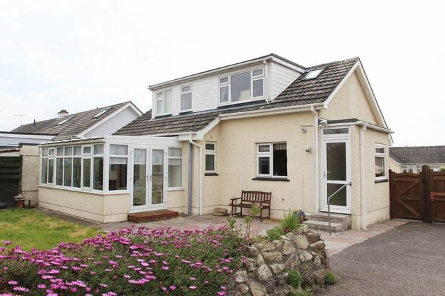 Thumbnail Detached bungalow for sale in Stafford Close, Newquay