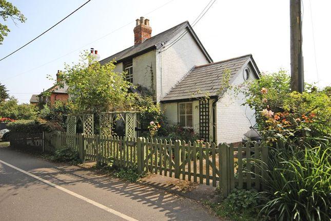Thumbnail Semi-detached house for sale in Woodcock Lane, Hordle, Lymington