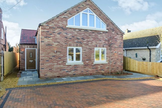 Thumbnail Detached house for sale in Gorefield Road, Leverington, Wisbech
