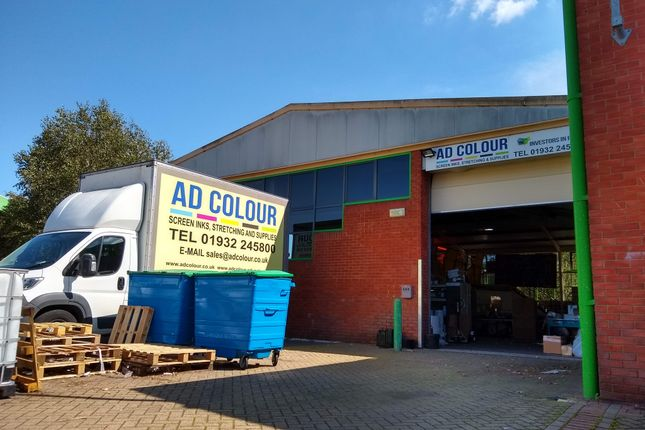 Thumbnail Industrial to let in Unit 18 Shepperton, Unit 18, Shepperton Business Park, Shepperton