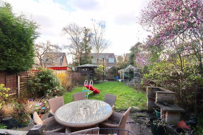 Rear Garden of Wyre Drive, Boothstown, Worsley M28