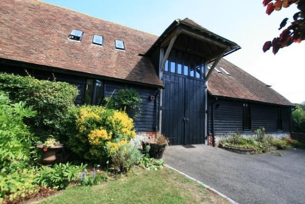 Thumbnail Barn conversion to rent in West Brabourne, Kent