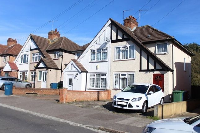 Thumbnail Semi-detached house to rent in Clewer Crescent, Harrow