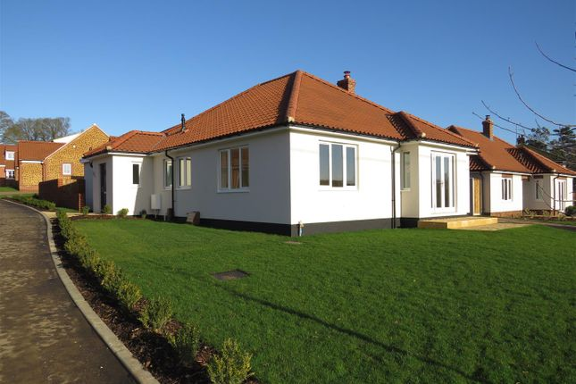 Thumbnail Detached bungalow for sale in Church Lane, Heacham, King's Lynn