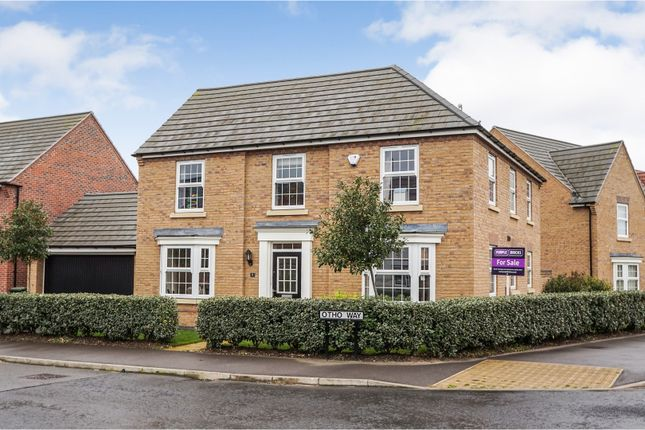 Thumbnail Detached house for sale in Otho Way, North Hykeham