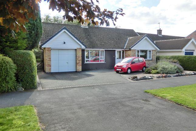Thumbnail Detached bungalow for sale in Abbotts Oak Drive, Coalville, Leicestershire