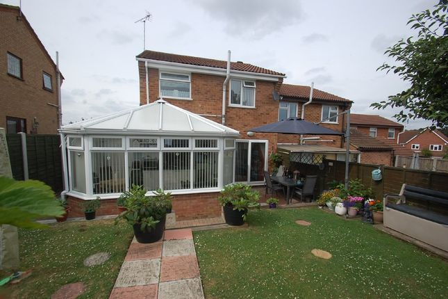 Thumbnail Semi-detached house for sale in Curlew Croft, Colchester
