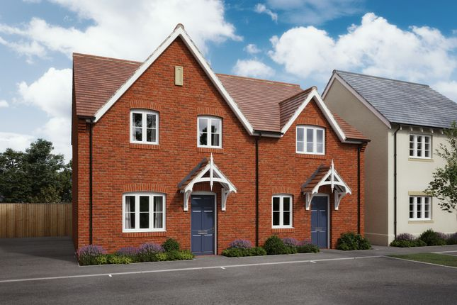 Thumbnail Semi-detached house for sale in Constance Road, Wimborne