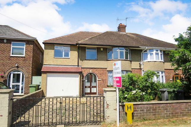 Thumbnail Semi-detached house for sale in Irthlingborough Road, Wellingborough