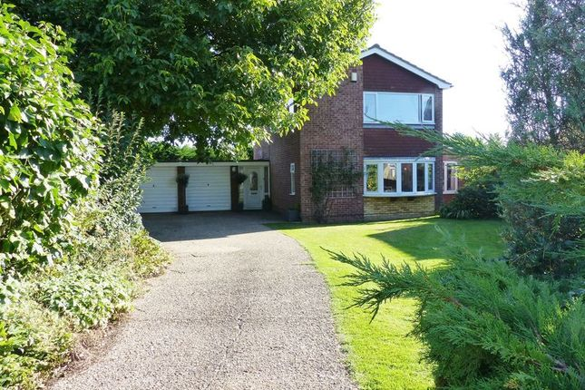 Thumbnail Detached house for sale in Exeter Close, Washingborough, Lincoln