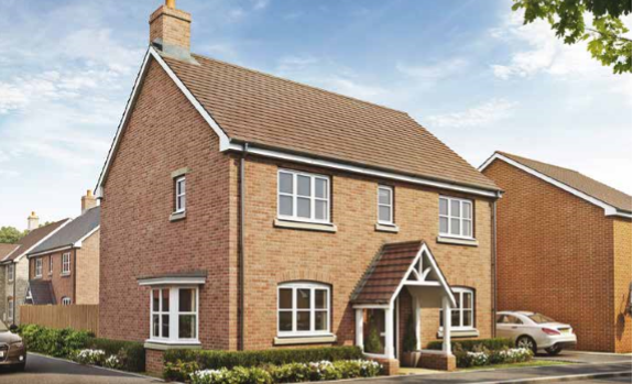 Thumbnail Detached house for sale in The Hilltown, The Orchard, Welford Road, Long Marston, Warwickshire