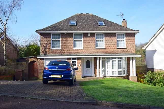 Thumbnail Detached house for sale in Wildwood Glade, Hempstead, Kent