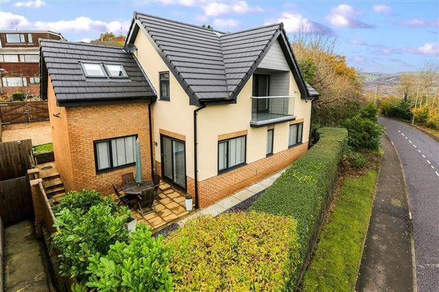 Thumbnail Detached house for sale in Main Road, Tonteg, Pontypridd
