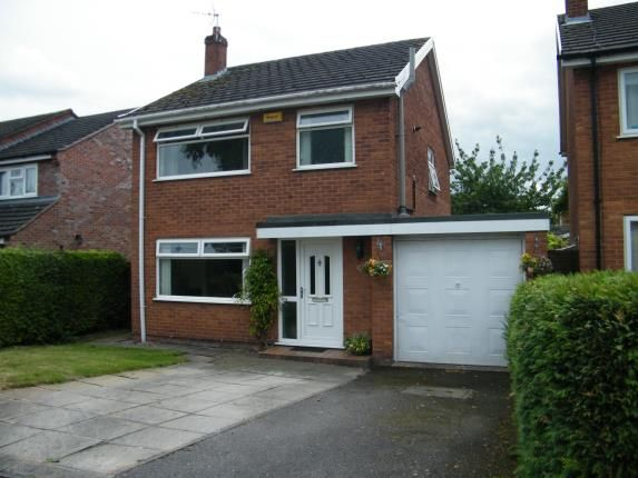 Thumbnail Detached house for sale in Woolston Drive, Hough, Crewe, Cheshire
