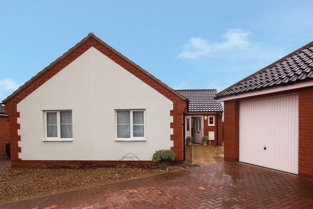 Thumbnail Bungalow for sale in Glebe Drive, Roydon, Diss