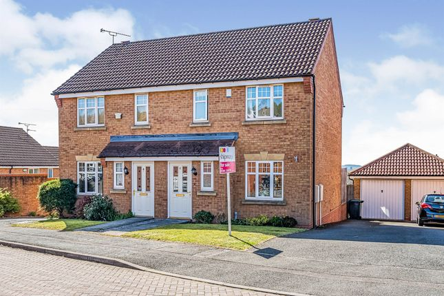 Thumbnail Semi-detached house for sale in Redstone Way, Lower Gornal, Dudley