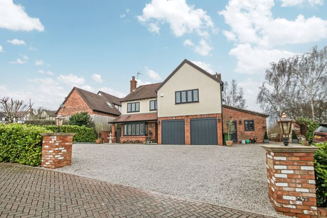 Thumbnail Detached house for sale in The Coppice, Mancetter, Atherstone