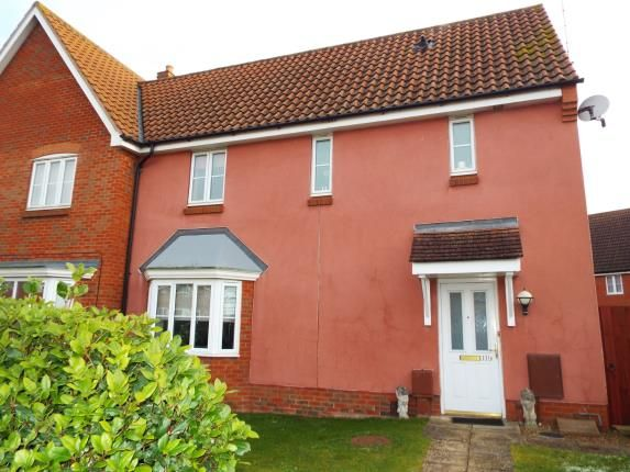Thumbnail Semi-detached house for sale in Kings Reach, Kings Lynn, Norfolk