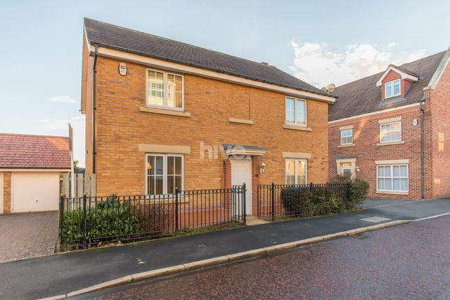 Thumbnail Detached house for sale in Sharperton Drive, Great Park, Newcastle Upon Tyne