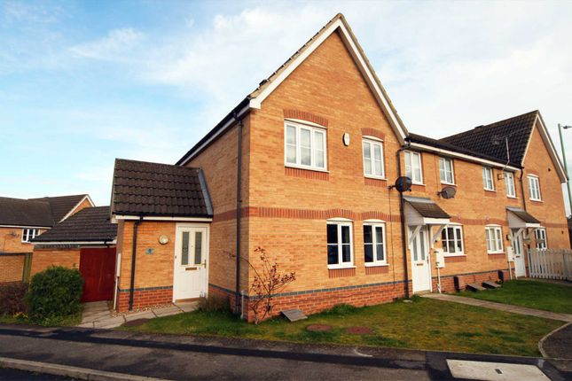 Thumbnail End terrace house to rent in Malt Close, Newmarket