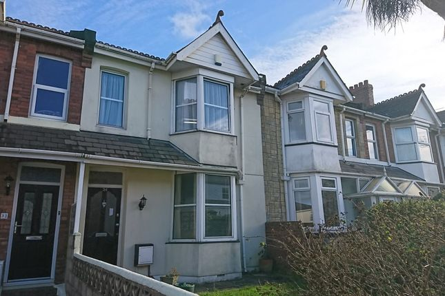 Thumbnail Terraced house to rent in Warbro Road, Torquay