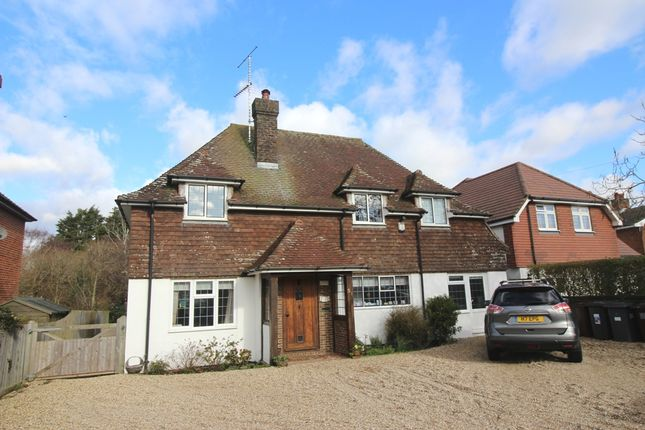 Thumbnail Detached house for sale in Huggetts Lane, Willingdon, Eastbourne