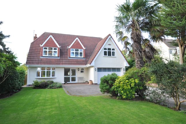 Thumbnail Detached house for sale in Farr Hall Drive, Heswall, Wirral