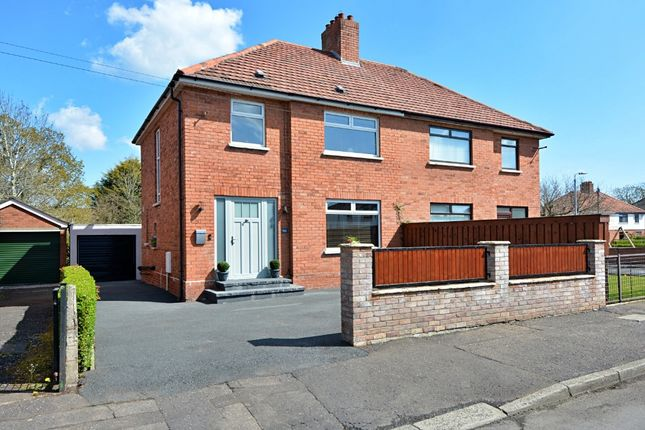 Thumbnail Semi-detached house for sale in Sicily Park, Finaghy, Belfast