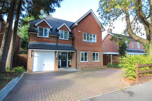Thumbnail Detached house for sale in Florence Road, Fleet, Hampshire