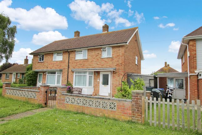 Thumbnail Semi-detached house for sale in Palmerston Avenue, Goring-By-Sea, Worthing