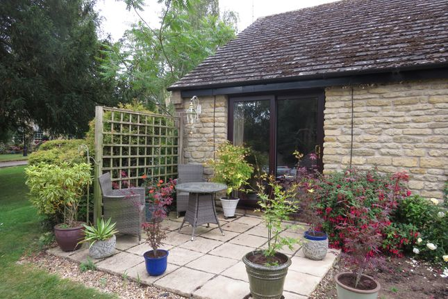 Thumbnail Terraced bungalow for sale in Tixover Grange, Tixover, Stamford