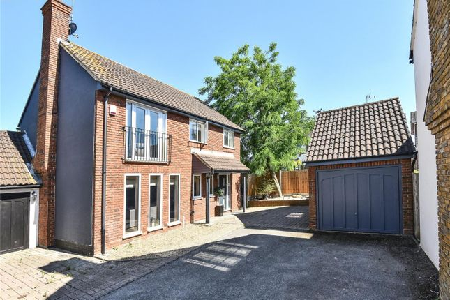 Thumbnail Detached house for sale in Whitehall, Market Place, Abridge, Romford