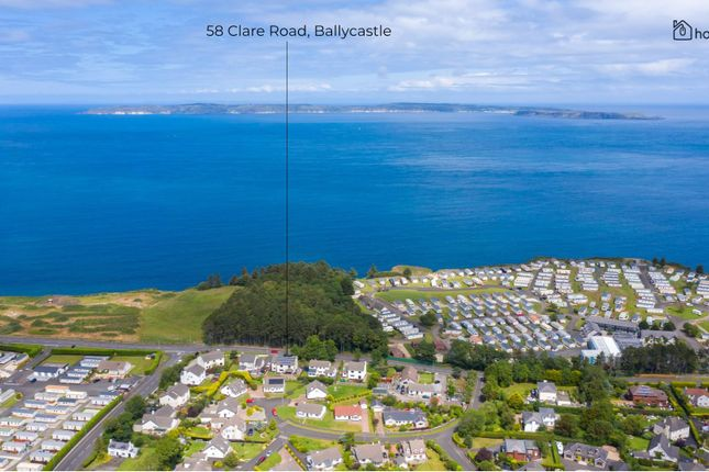 Thumbnail Detached house for sale in 58 Clare Rd, Ballycastle BT546Lq