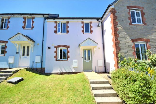 Thumbnail Terraced house to rent in Kensey Valley Meadow, Launceston, Cornwall