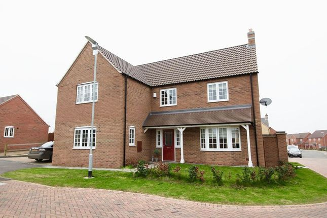 Thumbnail Detached house for sale in Hancock Drive, Bardney, Lincoln