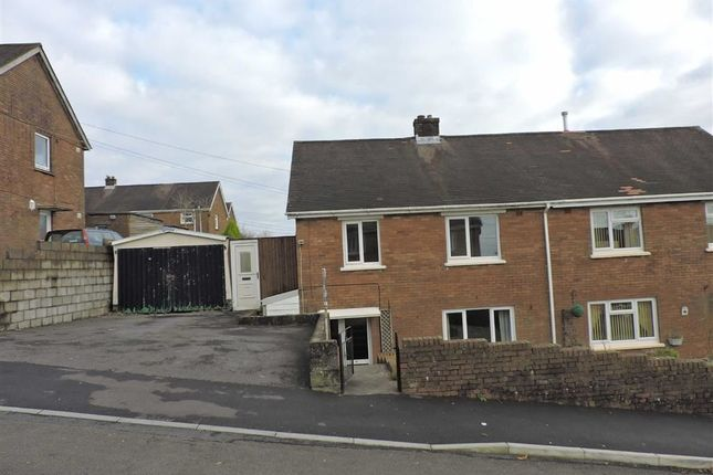 Thumbnail Semi-detached house for sale in Ffordd Aneurin, Pontyberem, Llanelli