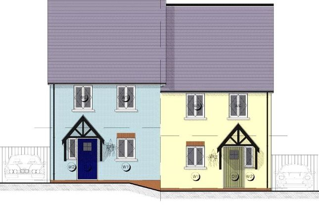 Thumbnail End terrace house for sale in 5 Maes Yr Orsaf (The Cilgerran), Plot 5, Station Road, Narberth