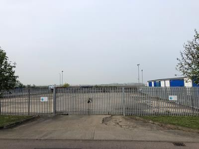 Thumbnail Land to let in Secure Yard, Wilstead Industrial Park, Kenneth Way, Wilstead, Bedford, Bedfordshire