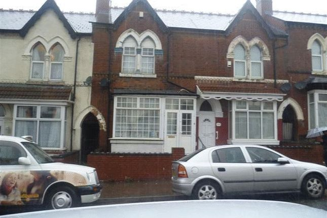 Thumbnail Terraced house to rent in Station Road, Handsworth, Birmingham