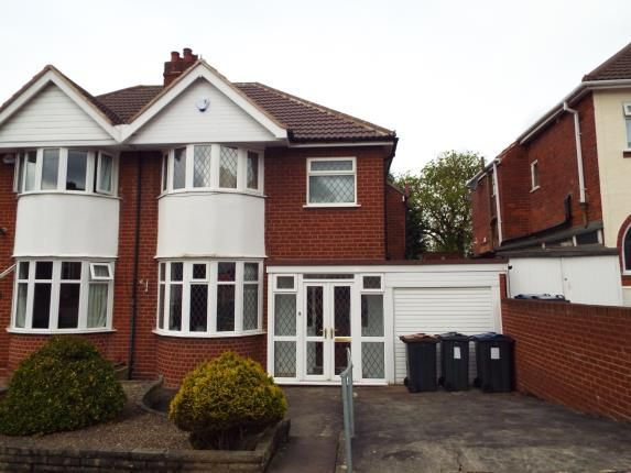 Thumbnail Semi-detached house for sale in Fairford Road, Birmingham, West Midlands