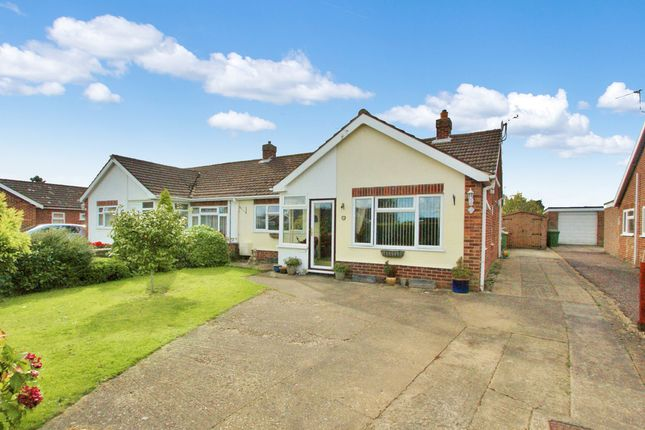 Thumbnail Semi-detached bungalow for sale in Christine Road, Spixworth, Norwich
