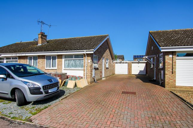 Thumbnail Semi-detached bungalow for sale in Coralin Walk, Stanway, Colchester