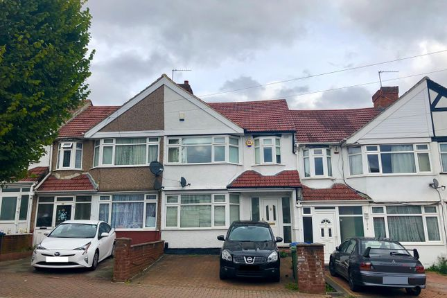 Thumbnail Terraced house for sale in Lyon Park Avenue, Wembley