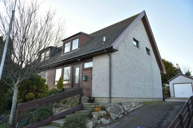 Thumbnail Semi-detached house for sale in Invergarry Park, St Cyrus, Montrose