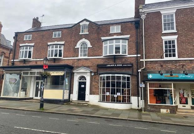 Thumbnail Land for sale in 75 High Street, Tarporley, Cheshire
