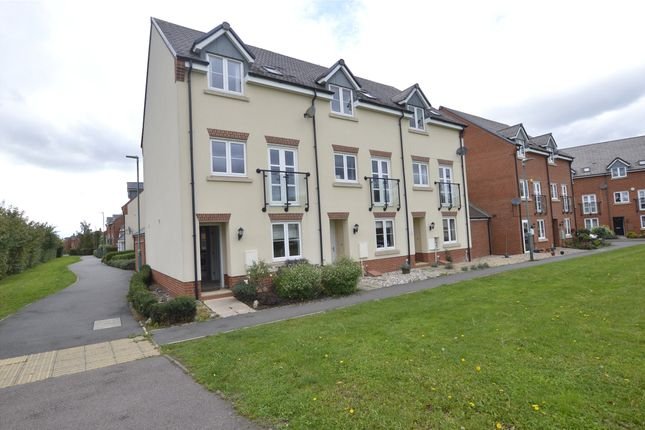 Thumbnail End terrace house for sale in Ambrosia Walk, Tewkesbury, Gloucestershire